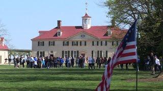 Mount Vernon, a symbol of Franco-American friendship