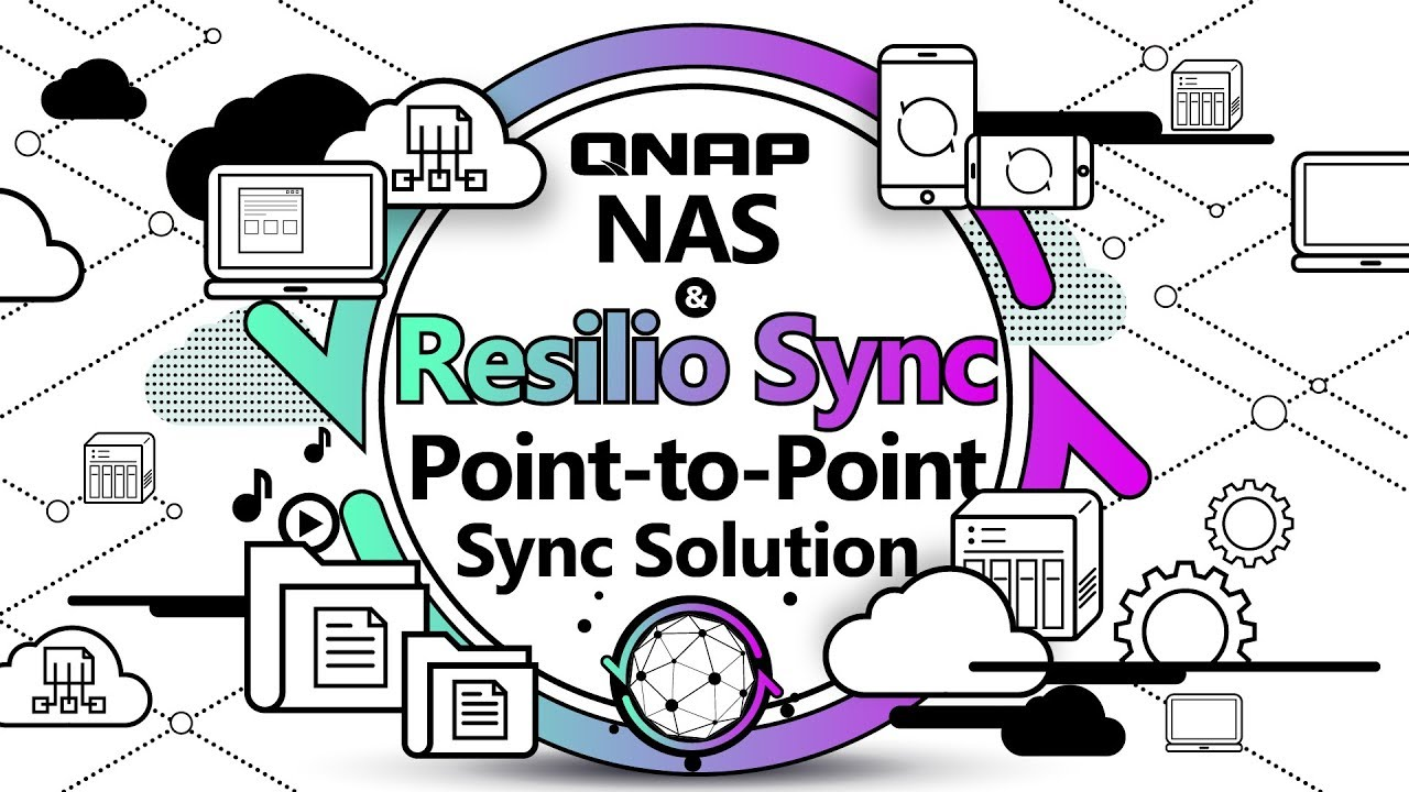 Use QNAP NAS and Resilio Sync to build a Point-to-Point sync