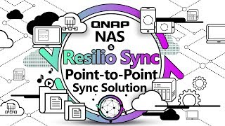 use QNAP NAS and Resilio Sync to build a Point-to-Point sync solution