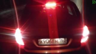 Lada Kalina Cross - ночной обзор (4k, UHD)