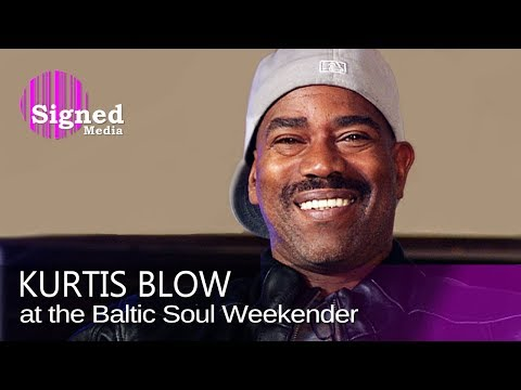 Kurtis Blow - Interview at the Baltic Soul Weekender (2009)