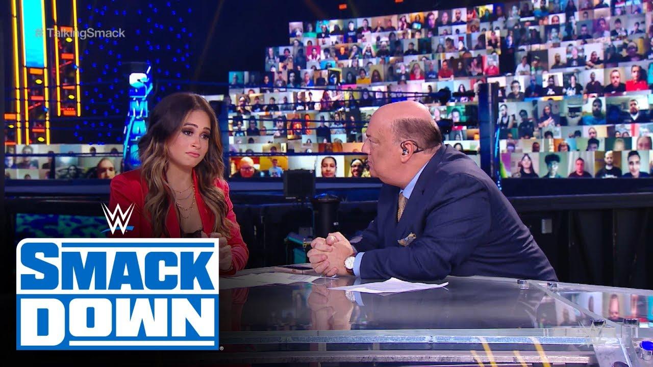 Paul Heyman offers an apology to Kayla Braxton: WWE Talking Smack, Dec. 5,  2020 - YouTube