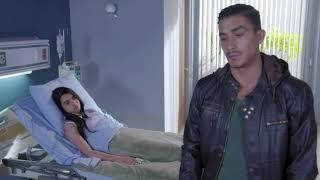 Paulino visita a Vanessa en el hospital