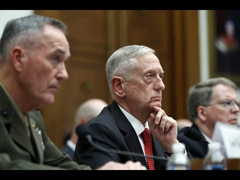 Defense Secretary Jim Mattis testifies before the House Armed Services Committee