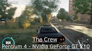 The Crew Wild Run - NVidia GeForce GT 210 - Pentium 4 630 3GHz - 3GB RAM
