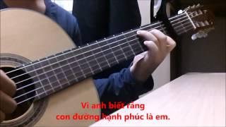Con đường hạnh phúc guitar solo