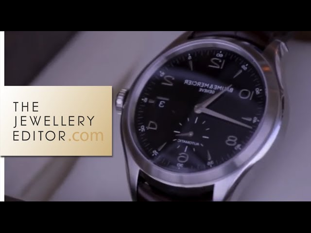 The story: Baume & Mercier watches at SIHH 2013