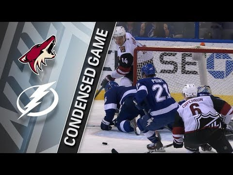 Arizona Coyotes vs Tampa Bay Lightning – Mar. 26, 2018 | Game Highlights | NHL 2017/18. Обзор