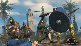 Total War:ATTILA DLC Смотрим юниты до стрима !