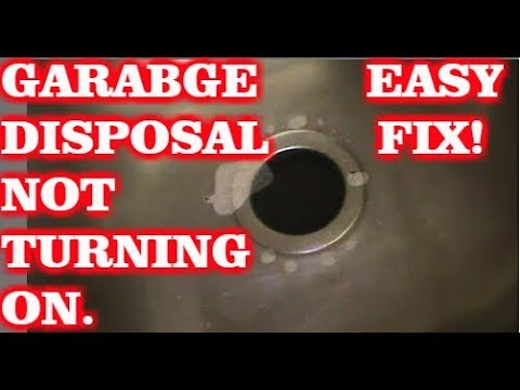 Garbage Disposal Not Turning On (Easy Fix)