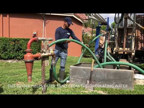 How to drill an irrigation well