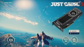 Just Cause 3 PC Free Roam Gameplay - GTX Titan X SC 1440p 60fps - Ultra Settings
