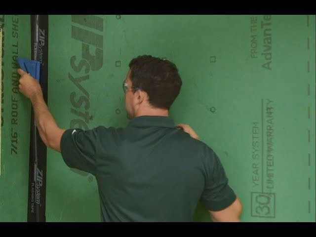 Taping Inside & Outside Corners | Mastering the Basics | ZIP System® sheathing and tape