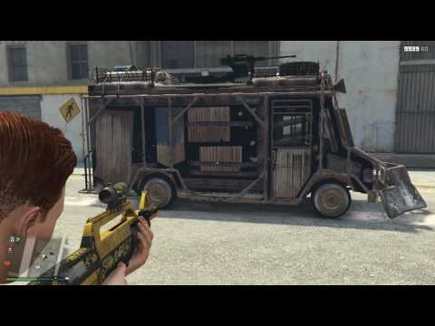 GTA Online Armored Boxville Test
