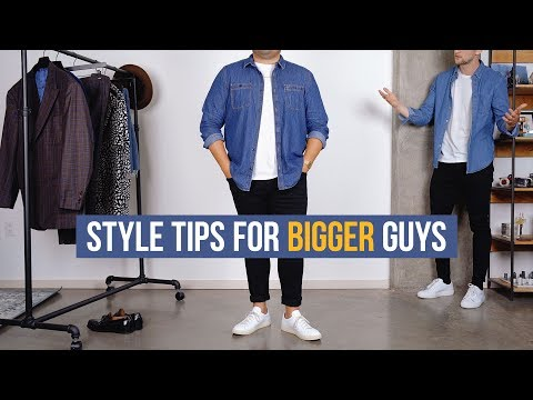 Dressing Stylish For Bigger Guys | Men's Fashion | Ft. Nick Urteaga