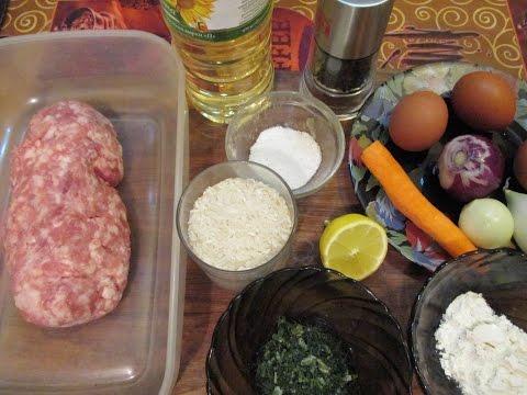 Греческий Суп с Фрикадельками. Готовим Дома. Рецепт опробован. // Олег Карп