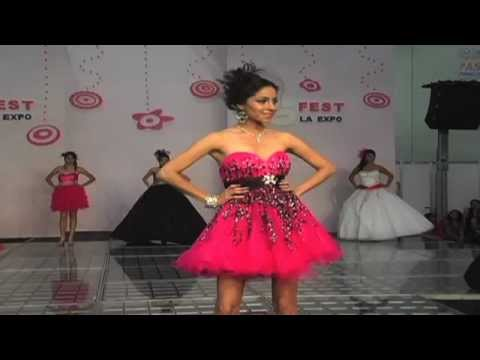 Picchelina vestidos de xv a os 15fest ene12 youtube for Ornamentacion de 15 anos