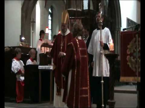 Valerie's Ordination - The Greeting