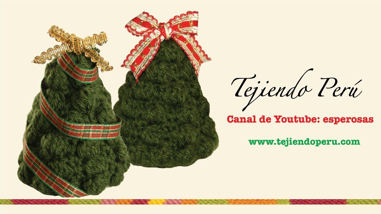 Árbol de Navidad en crochet (Parte 2) - YouTube