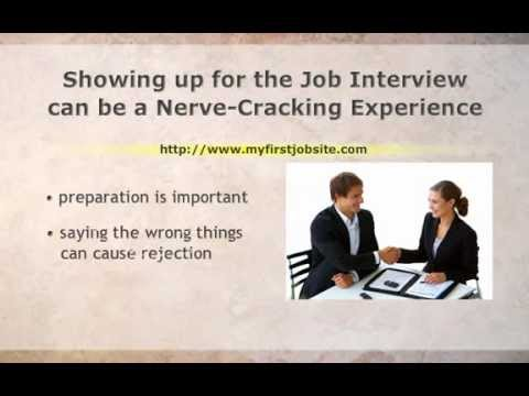 what to say at an interview