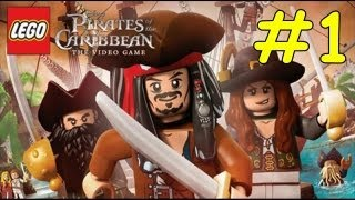 Lego Pirates Of The Caribbean Walkthrough - Chapter 1 Port Royal