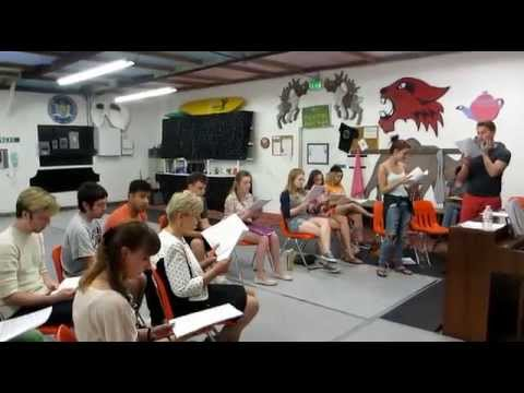 WOH Grease Rehearsals - Summer Nights