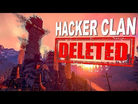 Chinese Hacker Zerg gets Raided, Foundation Wiped & Game Banned | Rust