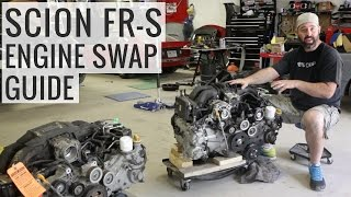 FA20 Engine Swap Bonanza - Scion FR-S Track Build - EP03