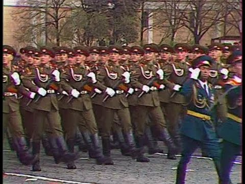 HD Soviet Army Parade, Victory Day 1985 Парад Победы