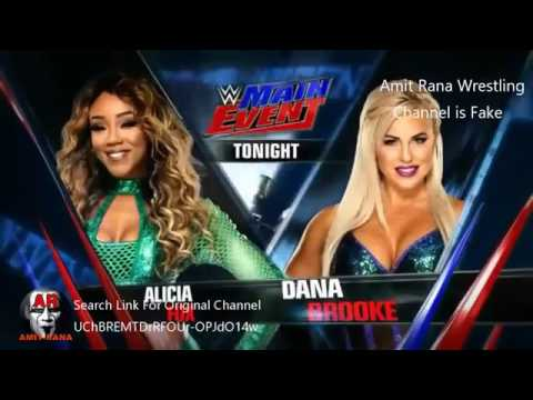 Download WWE Main Event 26117 Highlights HD WWE Main Event 26 January 2017 Highlights By Amit Rana