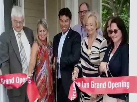 Ribbon Cutting at the New First Step Inn   June 27 2017