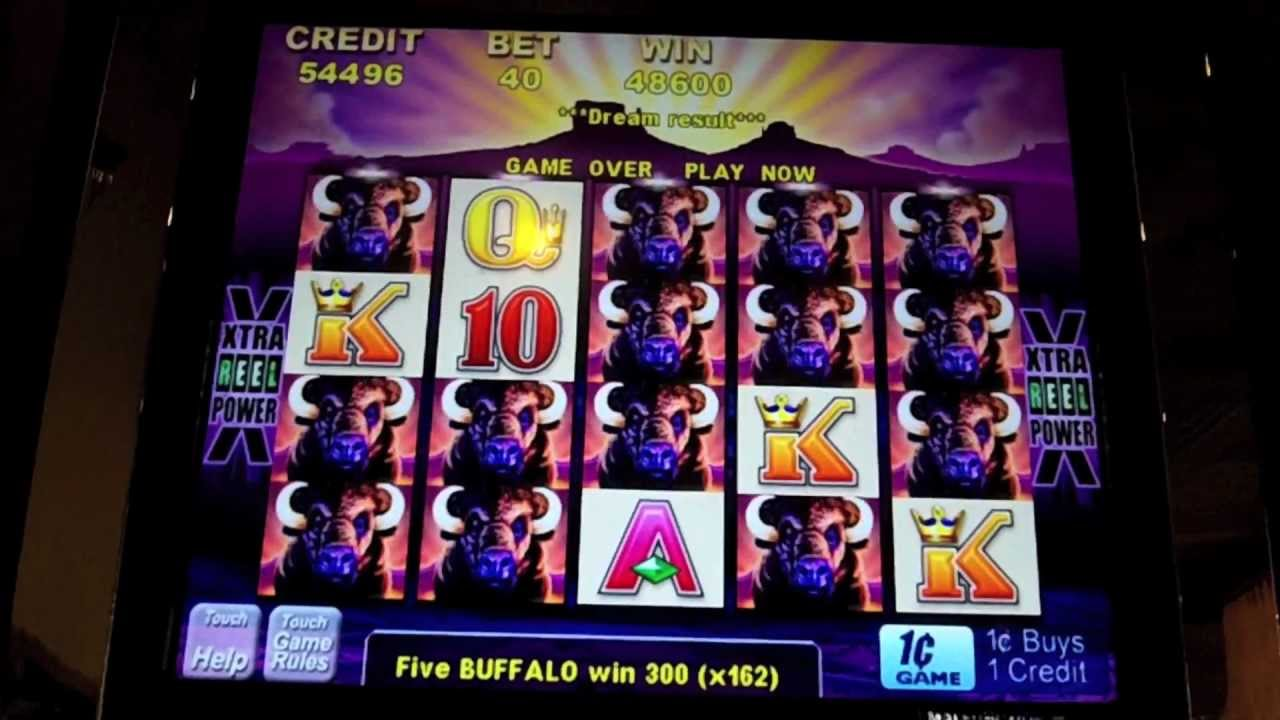 Aristocrat Buffalo Slot Stampede Over 1000x My Bet Parx Casino Bensalem Pa Youtube