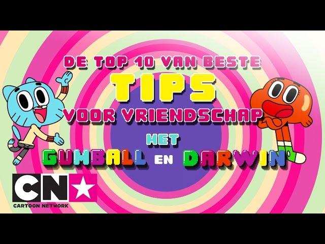 De Wonderlijke Wereld van Gumball | 10 manieren om een goede vriend te worden | Cartoon Network
