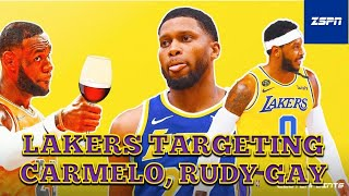 Rudy Gay, Carmelo Anthony Linked to Lakers After Russell Westbrook Trade   NBA Free Agency 2021