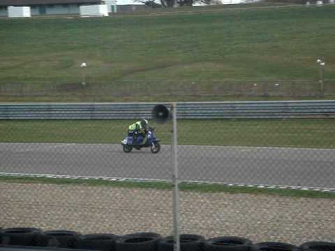 Mallory Park 09 racing Chris Redman short clip