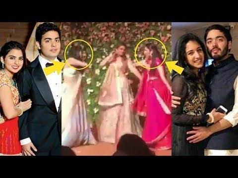 Mukesh Ambani's Daughter In Laws Shloka Mehta And Ritika Merchant Dancing Together