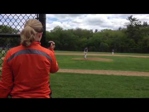 Wilmington pitcher Jackson Gillis, recruited already as sophomore. MLB Scouting Bureau also lookin