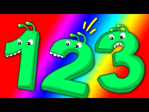 Magic Numbers and Colors! Learn with Groovy The Martian educational baby cartoons & Nursery Rhymes