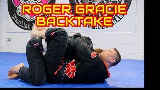 Roger Gracie Back Take from the Closed Guard (with Subtitles)