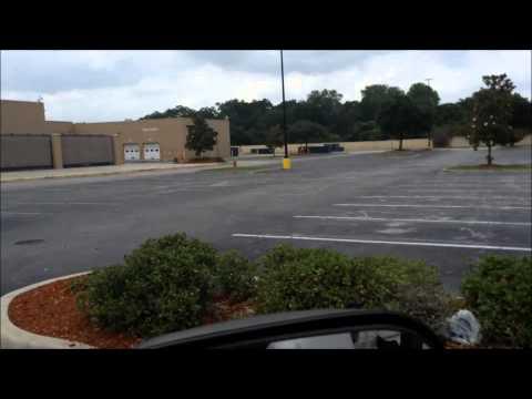 Driving Past Brandon Florida Closed Walmart