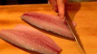 《簡単で美味しい しめ鯖の作り方》・・・・大和の 和の料理《しめ鯖》 thumbnail