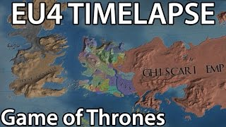 EU4 TIMELAPSE - Game of Thrones AI (Song of Ice and Fire)