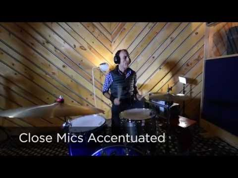 Matt Johnson: 2 Track Drum Recording with 4 Mics using 511's, 517's and 542's