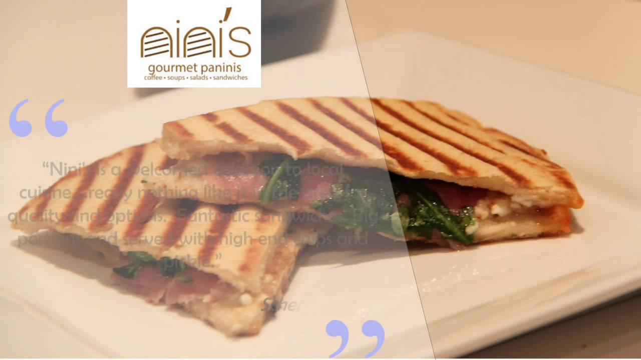Nini S Gourmet Panini Reviews Scotia Ny Restaurants 518 346 6464