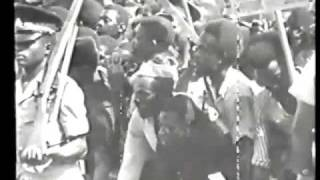 HAILE SELASSIE - April 21-1966 state visit to Jamaica