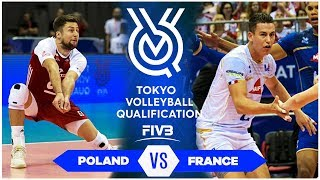 POLAND vs FRANCE | Highlights Men | Volleyball Olympic Qualification 2019 (HD)