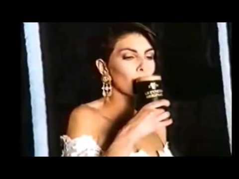 Gina Bellman 1993 Commercial campaign for Guinness