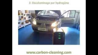 fumée noire sur renault scenic 1l9 DCI - Résolu avec Carbon Cleaning