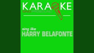 Jump in de line (shake senora) (in the style of harry belafonte) (karaoke instrumental version)
