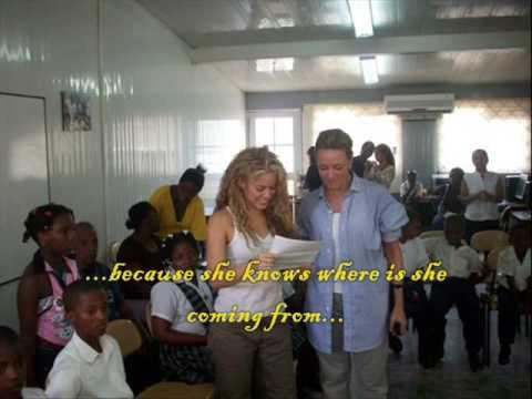 Shakira´s school in Colombia